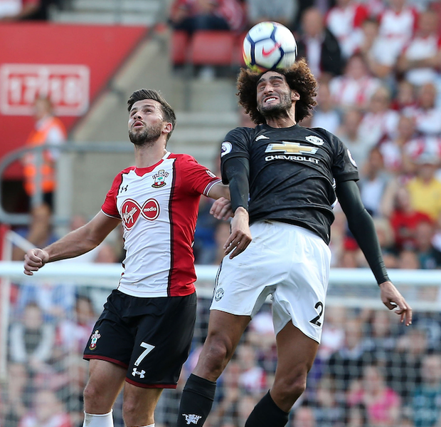 Manchester United not happy with Shane Long's 'robust' challenge that has left Maraoune Fellaini on the sidelines