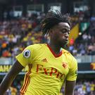 Watford have confirmed midfielder Nathaniel Chalobah is to undergo surgery on a knee injury