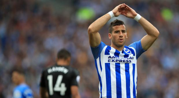 Brighton striker Tomer Hemed has been charged with an alleged act of violent conduct by the FA