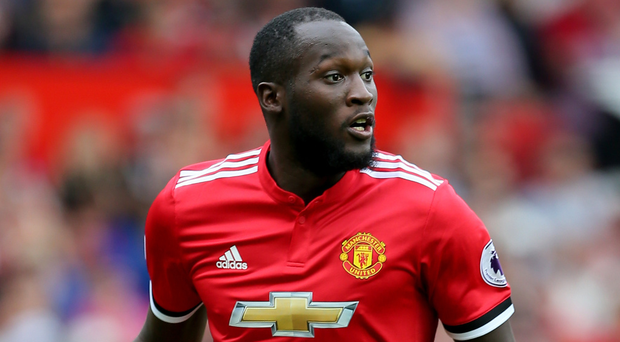 Manchester United's Romelu Lukaku. Photo: PA