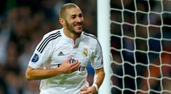 Real Madrid's Karim Benzema. Photo: Getty Images