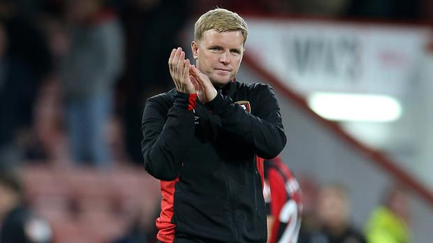 Eddie Howe is confident results will come after five defeats from Bournemouth's opening six Premier League matches