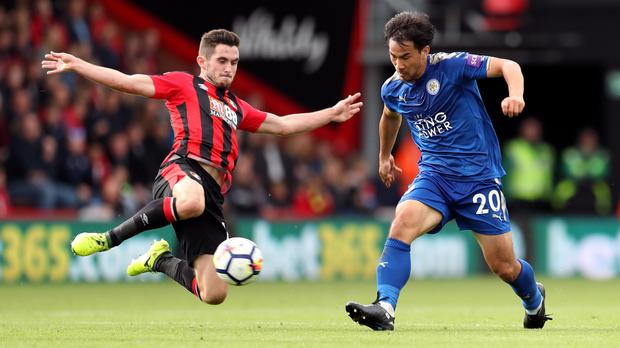 Lewis Cook, left, impressed against Leicester