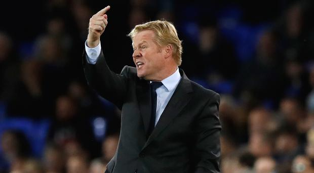 Everton manager Ronald Koeman has had a tough start to the season