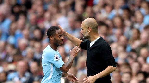 Manchester City boss Pep Guardiola says Raheem Sterling will be a target for top clubs