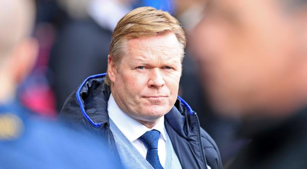 Koeman: Everton fans can not  complain about players' attitude