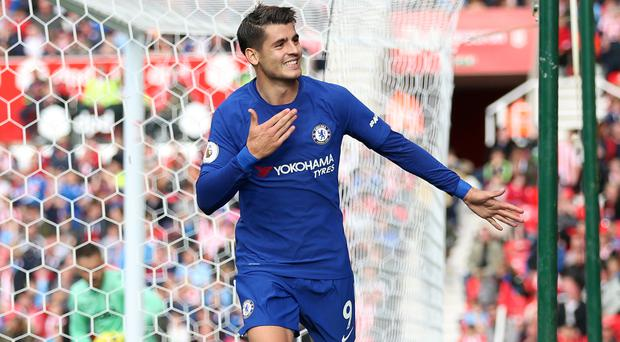 Striker Alvaro Morata's hamstring injury will be assessed by Chelsea later this week