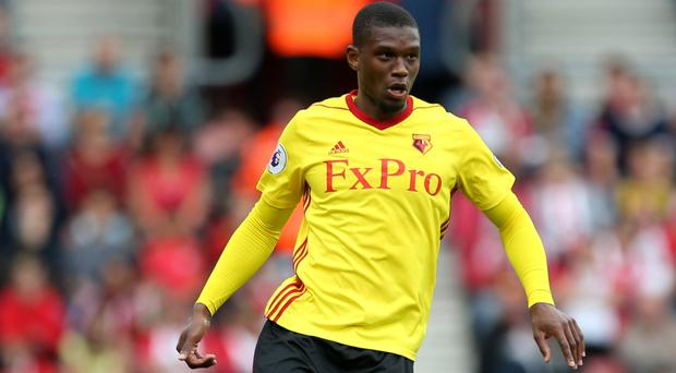 Watford defender Christian Kabasele has received a late international call-up by Belgium