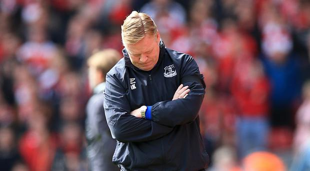 Ronald Koeman has a month to sort out the mess at Everton, according to former midfielder Trevor Steven