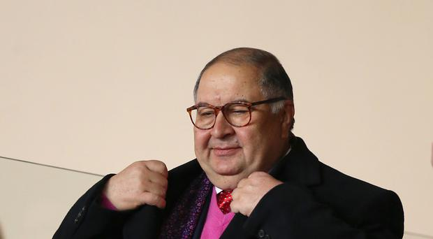 Arsenal shareholder Alisher Usmanov has no intentions of selling up to Stan Kroenke