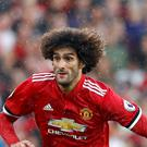 Marouane Fellaini is set to miss Manchester United's trip to Liverpool