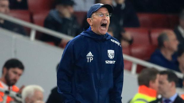 West Brom manager Tony Pulis, pictured, is an early favourite to replace Wales boss Chris Coleman