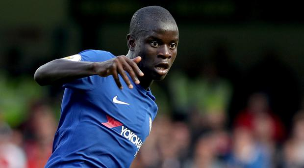 The extent of Chelsea midfielder N'Golo Kante's hamstring injury is likely to be revealed