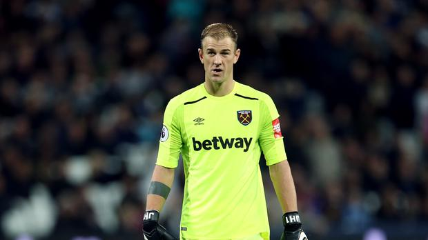 West Ham goalkeeper Joe Hart has been criticised for his performances