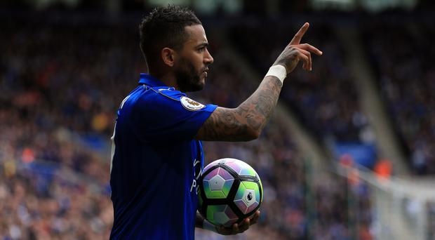 Danny Simpson brings up a landmark appearance this weekend