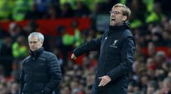 Jose Mourinho and Jurgen Klopp have come under fire at times this season