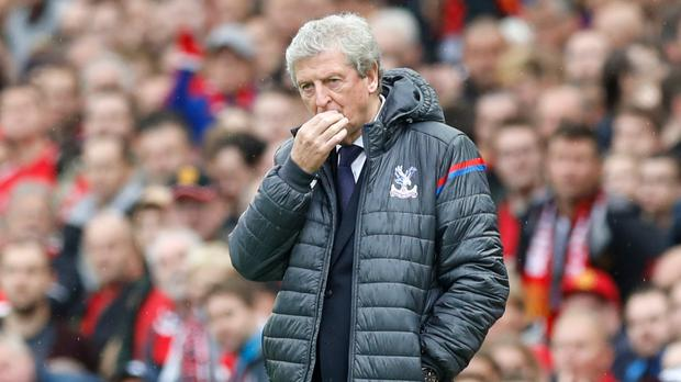 Roy Hodgson has yet to claim a point as Palace boss