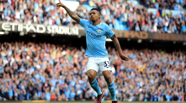 Gabriel Jesus is one of three Manchester City players with six goals to his name this season