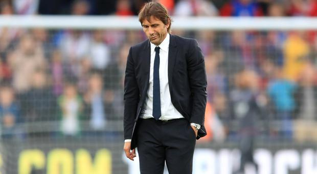 Antonio Conte was disappointed with Chelsea's display at Selhurst Park