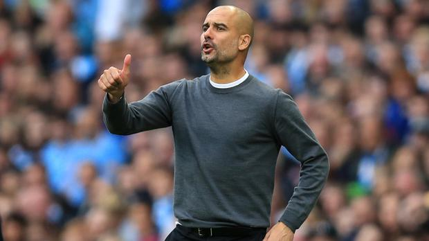 Pep Guardiola's Manchester City returned to the top of the Premier League with their demolition of Stoke
