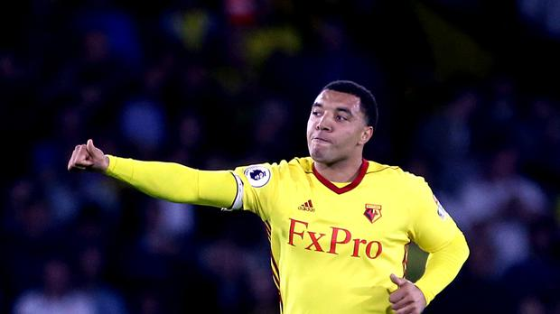 Watford's Troy Deeney has questioned Arsenal