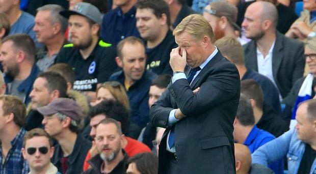 The pressure remains firmly on Ronald Koeman despite Wayne Rooney's late penalty
