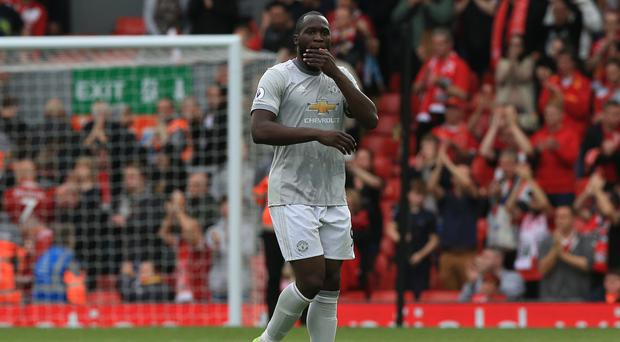 Manchester United striker Romelu Lukaku has dismissed criticism of his record against top-six clubs.