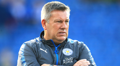 Leicester manager Craig Shakespeare