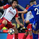 Leicester City's Riyad Mahrez (right) scores to drive his side to a draw against West Brom