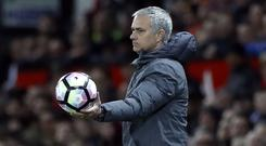 Jose Mourinho joined Manchester United in 2016