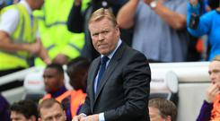 Ronald Koeman's Everton have won just two of their first eight Premier League fixtures