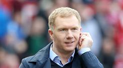 Paul Scholes believes Manchester United's title challenge would be boosted by away wins against their rivals
