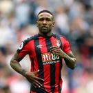 Eddie Howe insists Jermain Defoe, pictured, will play a vital role at Bournemouth this season