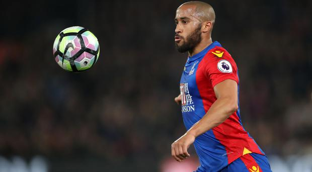 Roy Hodgson is happy to be working with Andros Townsend again