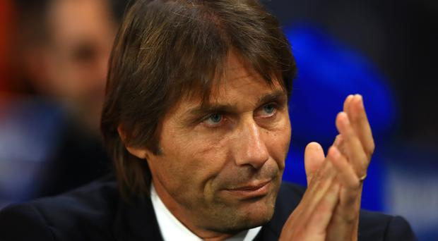 Antonio Conte has dismissed suggestions of discontent over his training methods