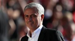 Jose Mourinho takes his team to Huddersfield this weekend