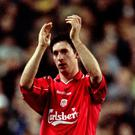 Robbie Fowler scored twice against Spurs in the 1993 clash at White Hart Lane
