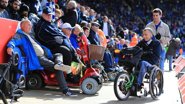 Disabled access has been greatly improved in the Premier League