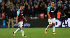West Ham were humiliated by Brighton at the London Stadium
