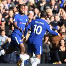 Michy Batshuayi was Chelsea's two-goal hero