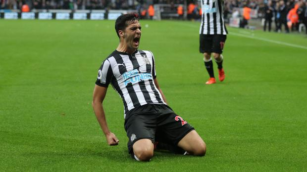 Mikel Merino was Newcastle's match-winner against Palace
