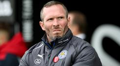Leicester caretaker manager Michael Appleton oversaw the Foxes' 2-1 win at Swansea
