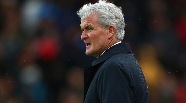 Mark Hughes' Stoke have lost five of their past six games