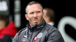 Caretaker manager Michael Appleton oversaw Leicester's 2-1 Premier League victory at Swansea.