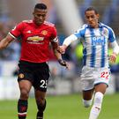 Manchester United manager Jose Mourinho saw his side shocked by Huddersfield