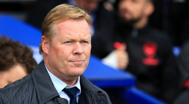Everton manager Ronald Koeman is coming under growing pressure
