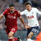 Dele Alli (right) was too hot for Liverpool to handle