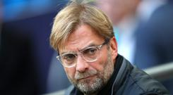 Liverpool manager Jurgen Klopp was less than impressed with his side's defensive display