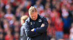 Ronald Koeman had a difficult start to the season