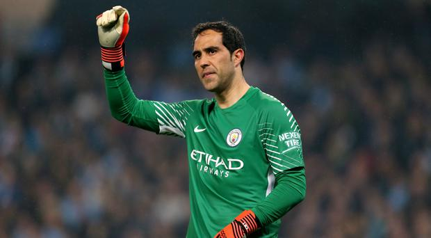 Claudio Bravo was Manchester City's hero on Tuesday